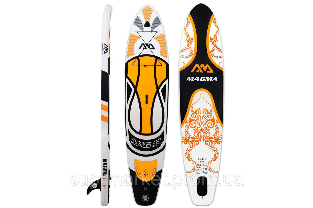 "SUP доска Aqua Marina Magma 10'10"", 2018, арт. BT-17MA"