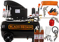 Масляный компрессор Black & Decker RCCC304BND541