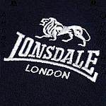 Кофта худи Lonsdale боксерская темносиняя | Кофта худі Lonsdale боксерська темносиня, фото 4
