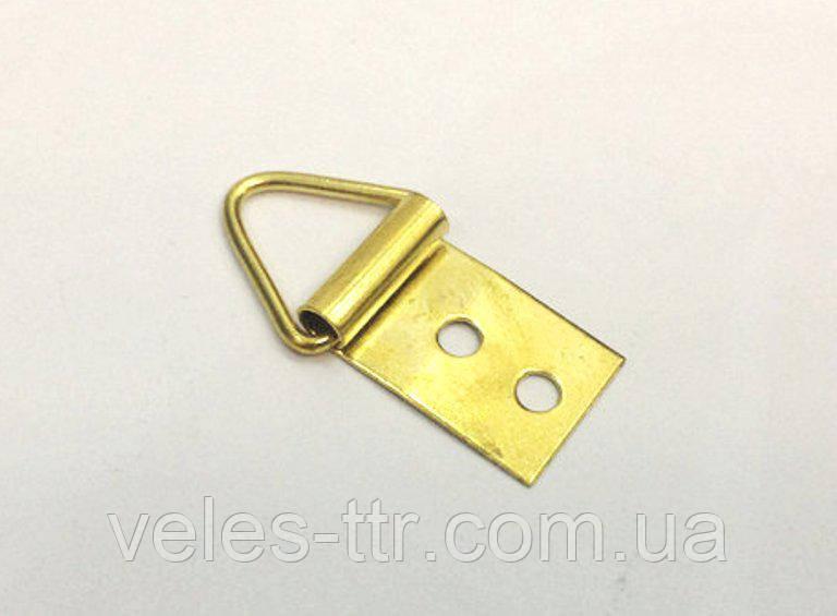 Петля для рам золото 30х13 мм