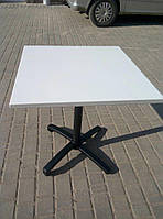 Квадратный  алюминиевый стол 70 х 70 см. для ресторана, кафе, фото 1
