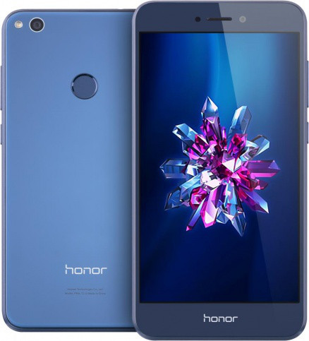 "Смартфон Huawei Honor 8 Lite Blue 3/16Gb, 12/8Мп, 5.2"" IPS, 2 sim, 4G, 3000мАh, Kirin 655, 8 ядер"
