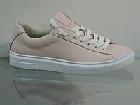 Модные женские кроссовки натуральная кожа, фото 1