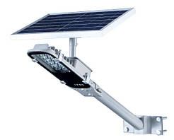 Светодиодный автономный уличный LED фонарь с солнечной батареей - 10 Ватт Долгий