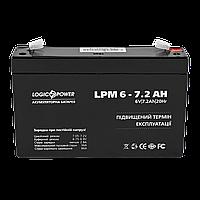 Аккумулятор кислотный LP 6-7,2 AH