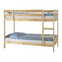 MYDAL  Каркас 2-ярусной кровати, сосна