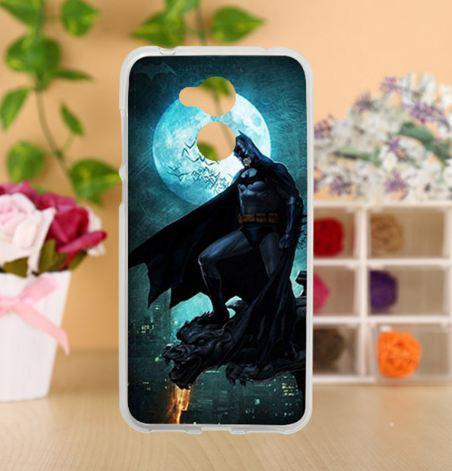 Оригинальный силиконовый бампер для Huawei honor 6A с картинкой Бэтмен