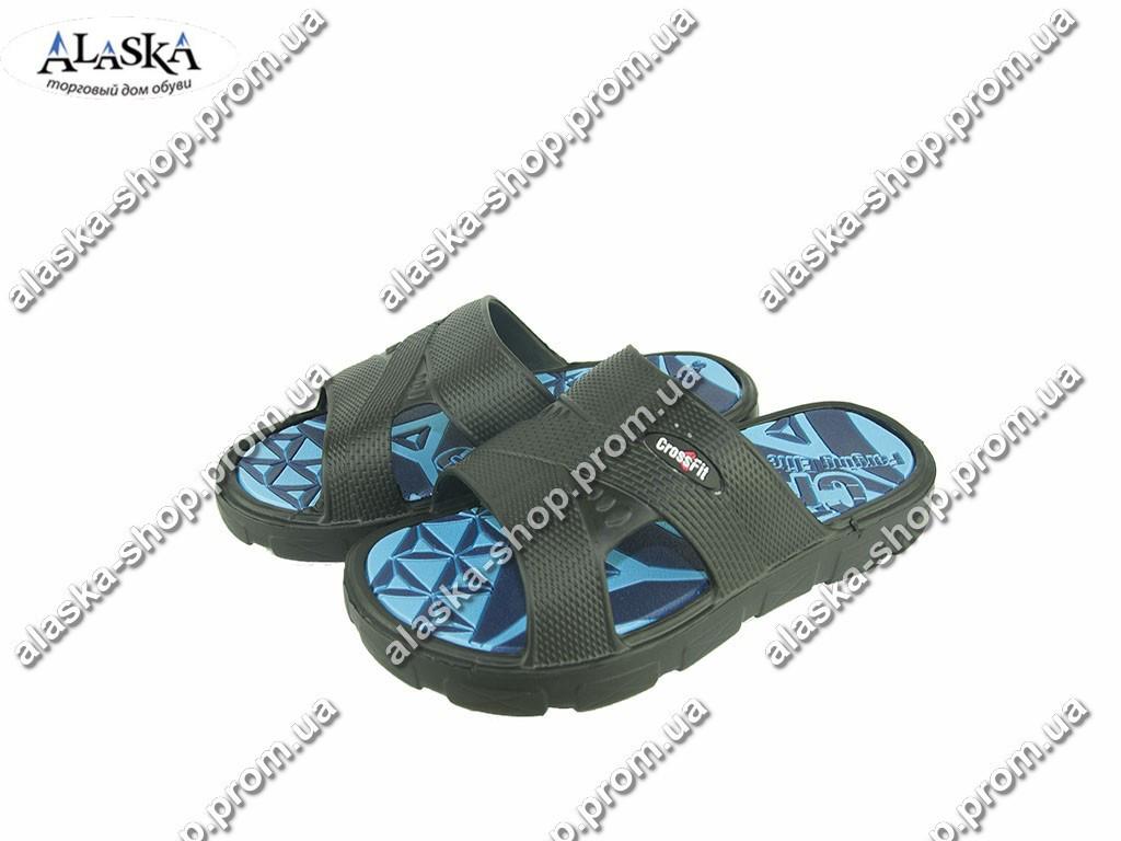 Подростковые шлепанцы  (Код: Даго 426 синий )