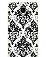 Копия Дизайнерский чехол для Meizu M1/M1 Mini - Черно белые обои