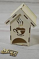 Чайный домик из дерева