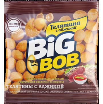 Арахис жареный со вкусом телятины с аджикой 30г BIG BOB