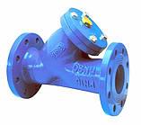 Фильтр для воды чугунный фланцевый тип ФОФ (F101) Ду125 Ру16, фото 2