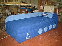 Диван Капитан цвет синий