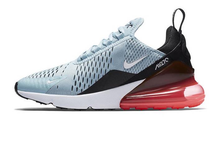 Женские кроссовки Nike AIr Max 270 Ocean Bliss (Реплика ААА+)  ... 88377f87c6c