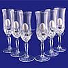 Набор хрустальных бокалов для шампанского Suggest, 300 мл(6 предметов) (PB225795), фото 2