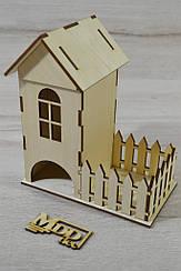 Чайний будиночок з дерева