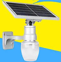 Светодиодный автономный уличный LED фонарь на солнечной батарее 10 Ватт Груша