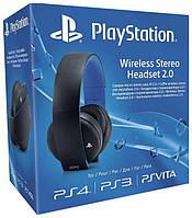 Наушники Playstation Wireless Stereo Headset 2.0 Black