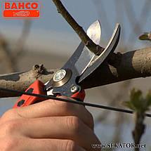 Секатор садовий Bahco PX-M2 (Франція), фото 2