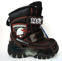 """Термо ботинки для мальчика """"Super Gear"""" Р.25"""