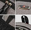 Большой тканевый мужской рюкзак Sportxilie, фото 5