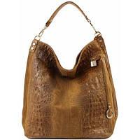 Кожаная женская сумка Luisa