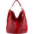 Кожаная женская сумка Луиза, фото 3