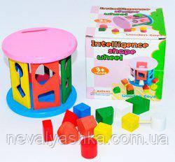 Деревянная игрушка Сортер, MD 0348, 007816