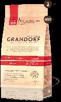 Grandorf ADULT INDOOR Lamb & Rice 0.4 кг - корм с пробиотиками для домашних кошек (ягненок/рис)