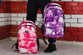 Стильные рюкзаки Nike, розовый фиолетовый