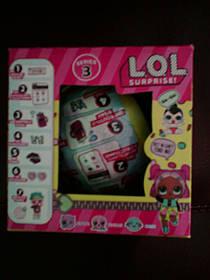 Кукла L.O.L. Кукла ЛОЛ 3 сезон. одежда меняет цвет