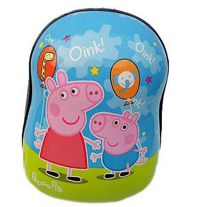 Твердые детские рюкзаки с принтами  3D Свинка Пеппа (Peppa), фото 2