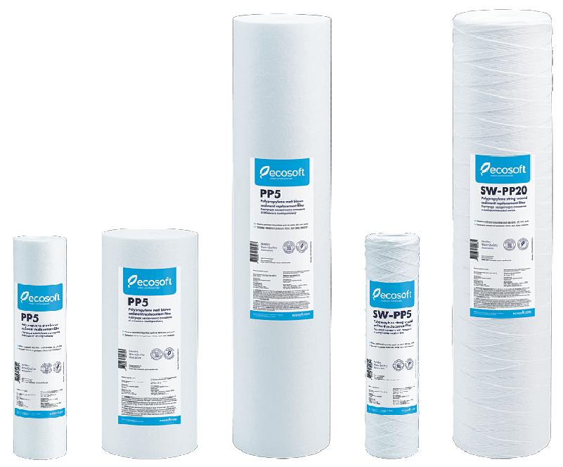 Картридж полипропиленовый Ecosoft механической очистки холодной воды - Интернет-магазин LeCo в Херсоне