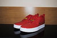 Мужские кожаные кроссовки Nike Tiempo Vetta Red, фото 1