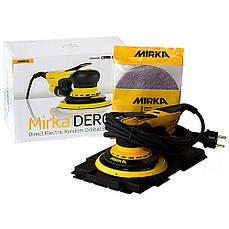 Шлифовальная электрическая машинка 220В MIRKA DEROS 650CV 150мм орбита 5,0 MID6502022