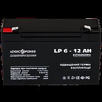 Аккумулятор кислотный LP 6-12 AH