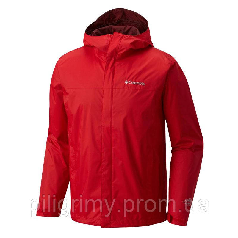 4a0449326816 Мужская ветровка Columbia WATERTIGHT™ JACKET красная RM2433 696 -  интернет-магазин