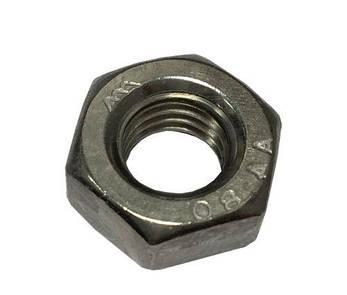 Гайка из нержавейки М1,4 | DIN 934, ISO 4032| A4, фото 2