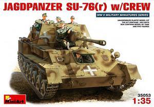Немецкая СУ-76(р) с экипажем. 1/35 MINIART 35053