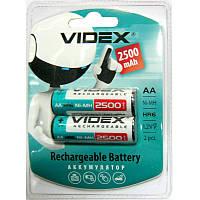 Аккумулятор  R6 Videx  2500mAh NiMH