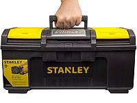 """Ящик для инструмента 19"""" пластмассовый """"Stanley Line Toolbox""""; 48,6 x 26,6 x 23,6 см"""