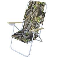 Кресло-шезлонг «Пикник» камуфляж