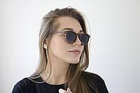 Круглые очки дерево (9015-3)