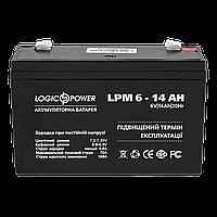 Аккумулятор кислотный LPM 6-14 AH