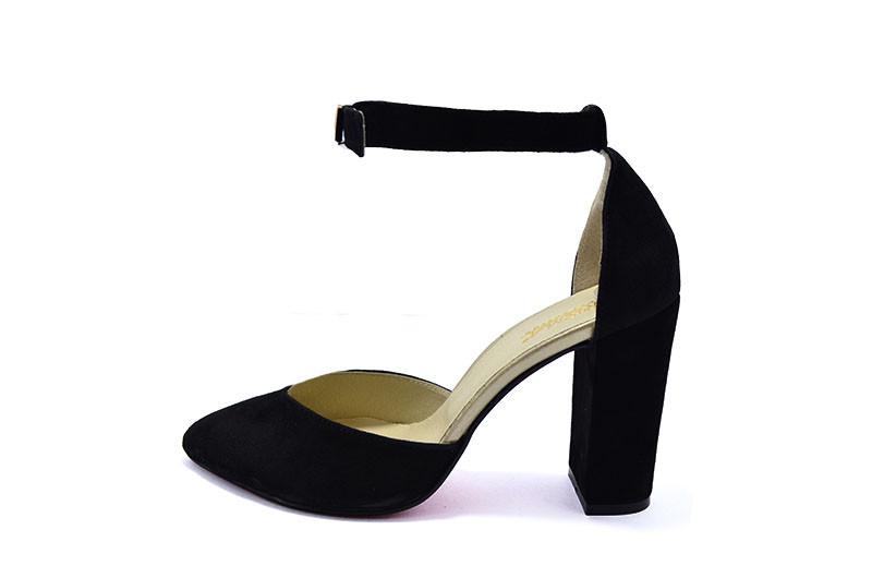 Женские туфли с нат. кожи замш Crisma QK 1882-2 Black р. 37 37, цена ... 6868e720026