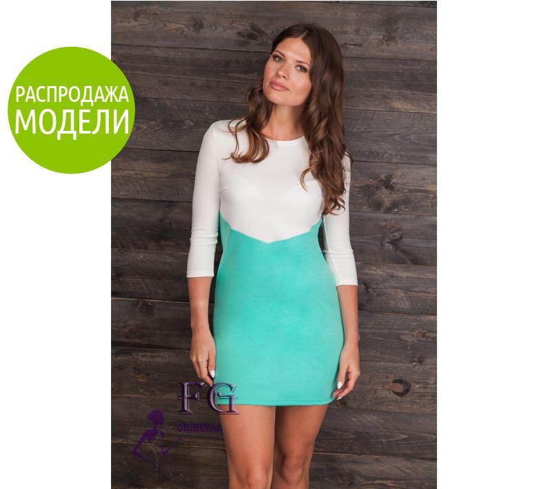 """Двухцветное платье """"Лаура"""". Распродажа модели"""