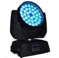 Движующаяся LED голова с zoom