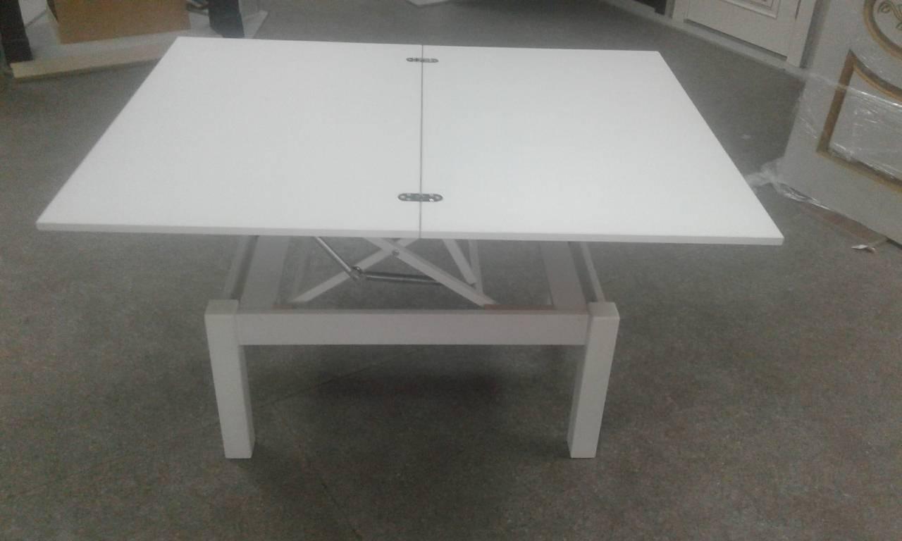 Стол транформер Флай (нимфея альба(белый)) журнально-обеденный