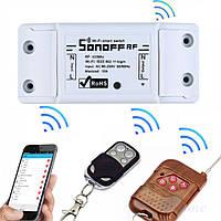 Sonoff RF Радио (433 МГц) + WIFI Беспроводной Выключатель Для Умного Дома c таймером ANDROID, iOS