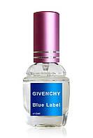 Мужская туалетная вода  с феромонами Givenchy Blue Label pour Homme (Живанши Блю Лейбл), 12 мл